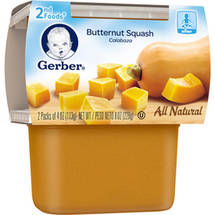 Gerber 2nd Foods Butternut Squash Baby Food