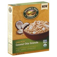 Nature's Path Organic Chia Plus Granola Coconut Chia