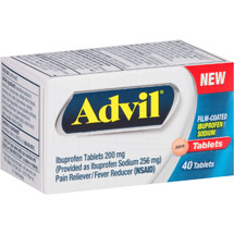 Advil Film-Coated Pain Reliever / Fever Reducer (Ibuprofen)