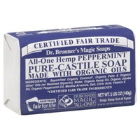 Dr. Bronner's Magic Soaps All in One Hemp Peppermint Soap