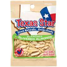 Texas Star Blanched Slivered Almonds
