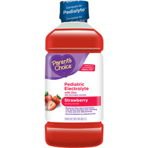 Parent's Choice Strawberry Pediatric Drink with Electrolytes