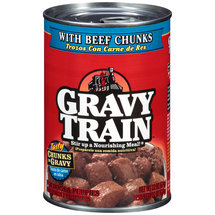 GRAVY TRAIN CHUNKS W/BEEF