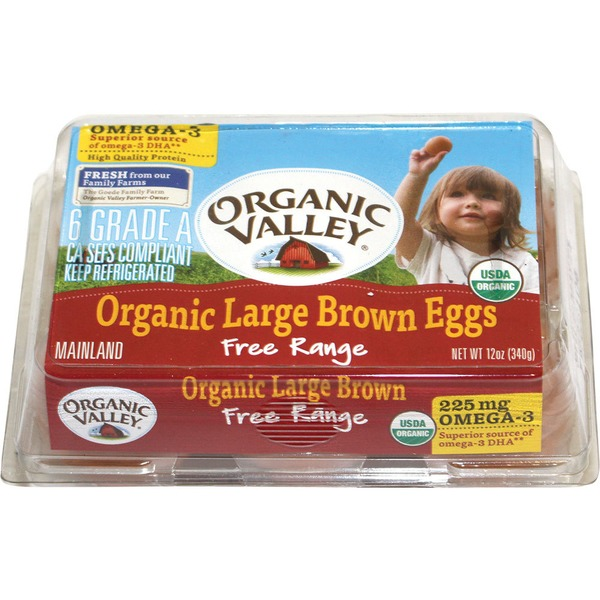 Organic Valley Omega 3 Large Eggs