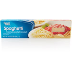 Great Value Spaghetti Pasta