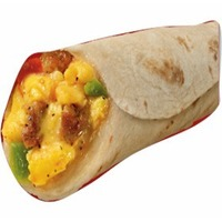 Egg, Turkey, Sausage & Cheese Breakfast Burrito