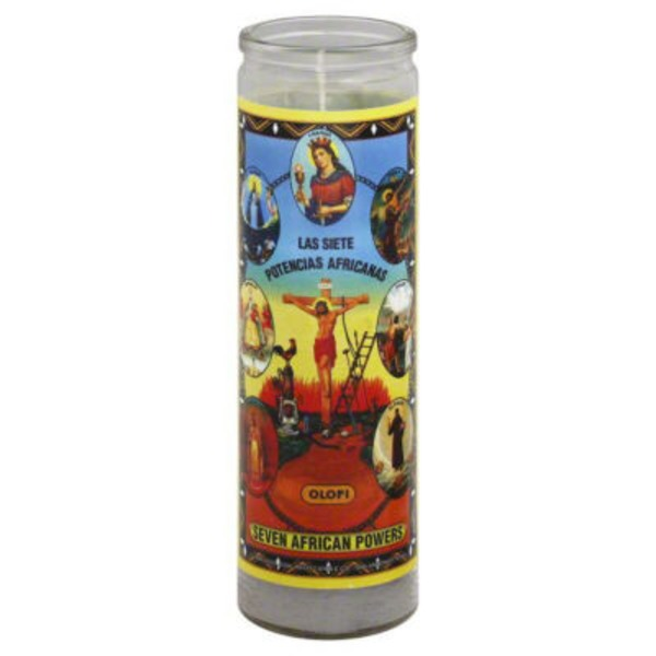 Reed Candle Company Seven African Powers Candle