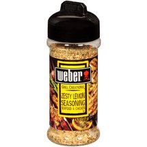 Weber Grill Creations Zesty Lemon Seasoning