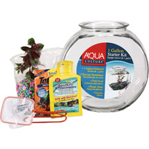 Anchor Hocking Company Premium Fishbowl Starter Kit