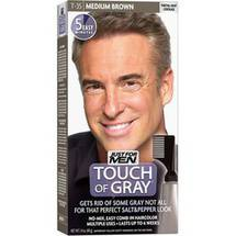 Just For Men Touch of Gray Medium Brown-Gray Hair Treatment