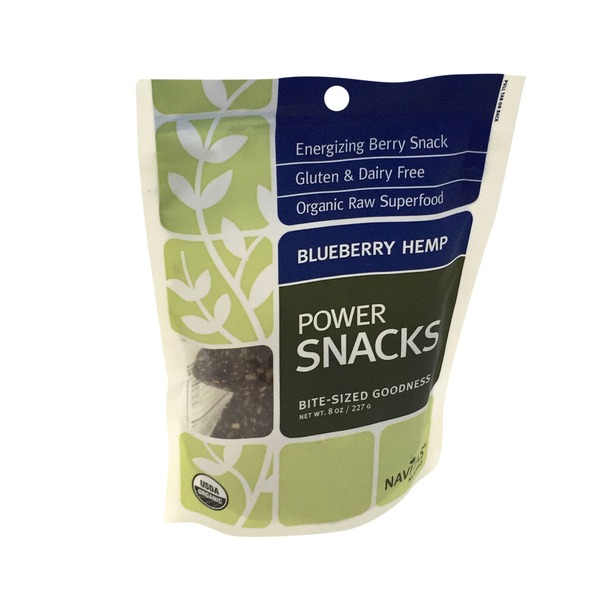 Navitas Naturals Blueberry Hemp Superfood Snack