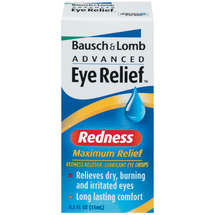 Baush+Lomb Advanced Eye Relief Maximum Relief Lubricant/Redness Reliever Eye Drops