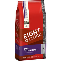 Eight O'Clock Dark Italian Roast Whole Bean Coffee