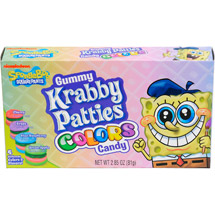 Nickelodeon Krabby Pattie Colored Gummies