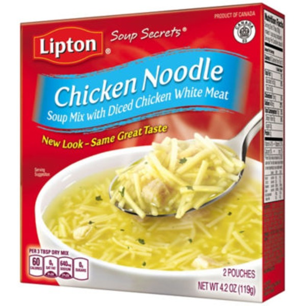 Lipton Chicken Noodle Soup Noodle Soup Mix
