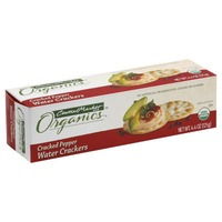 Central Market Organics Cracked Pepper Water Crackers