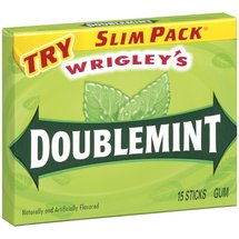 Doublemint Slim Pack Chewing Gum