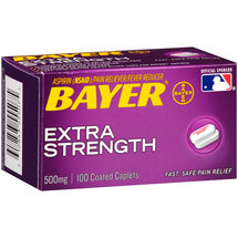 Bayer Aspirin Extra Strength Pain Reliever/Fever Reducer Coated Caplets
