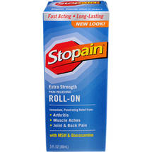 Stopain Pain Relief Extra Strength Roll-On