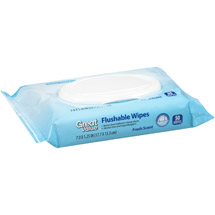 Great Value Fresh Scent Flushable Wipes