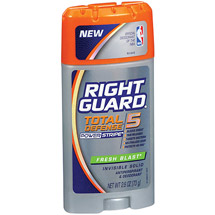 Right Guard Xtreme Invisible Solid Fresh Blast w/Powerstipe Anti-Perspirant/Deodorant