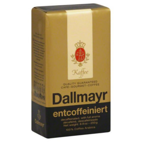 Dallmayr Prodomo Decaffeinated Coffee