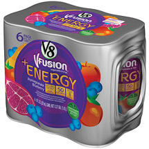 V8 V-Fusion Energy Pomegranate Blueberry Flavored Vegetable & Fruit Juice
