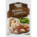 Great Value Brown Gravy Mix