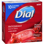 Dial AntiOxidant Glycerin Bar Soap with Power Berries