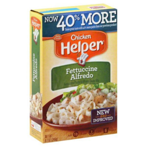 Betty Crocker Fettuccine Alfredo Chicken Helper