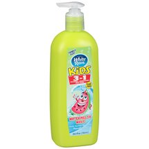 White Rain Kids Watermelon Wave 3 in 1 Shampoo/Conditioner/Body Wash