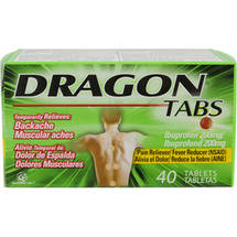 Dragon Tabs Ibuprofen Pain Reliever/Fever Reducer Tablets