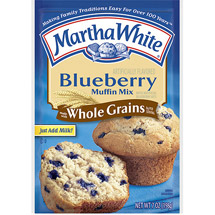 Martha White Blueberry Made w/Whole Grains Muffin Mix