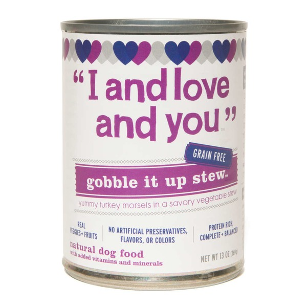 I & Love & You Gobble It Up Stew Natural Dog Food