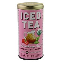 The Republic of Tea Strawberry Basil Iced Tea Pouches