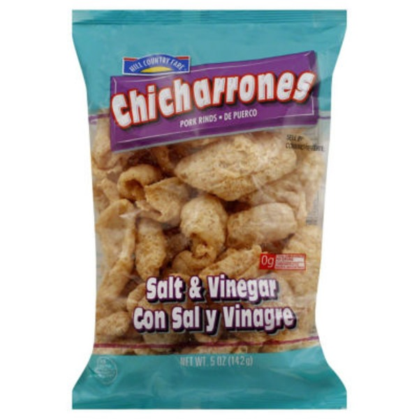 Hill Country Fare Salt & Vinegar Pork Rinds