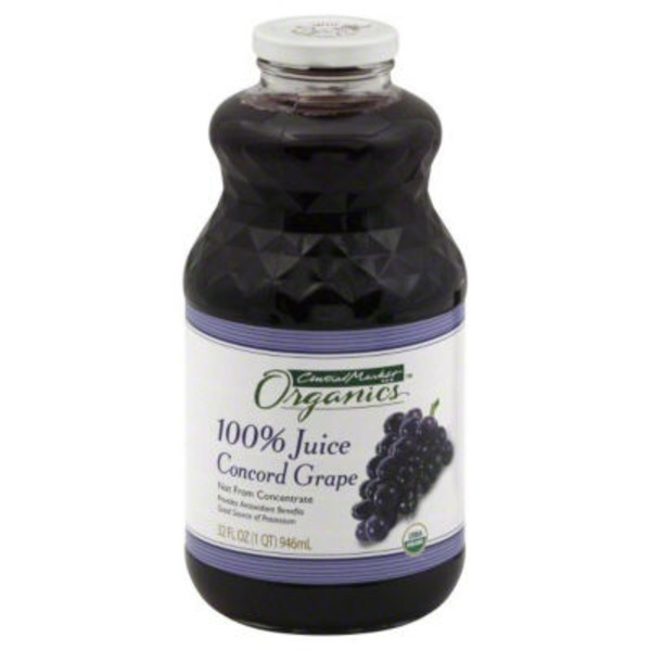 Central Market 100% Juice Concord Grape