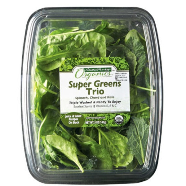 Central Market Organics Super Greens Trio