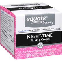 Equate Night-Time Firming Cream