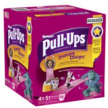 Huggies Pull Ups Girls' Learning Designs Training Pants  4T-5T