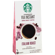 Starbucks VIA Italian Roast Coffee