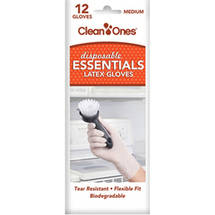 Clean Ones Essentials Disposable Latex Gloves