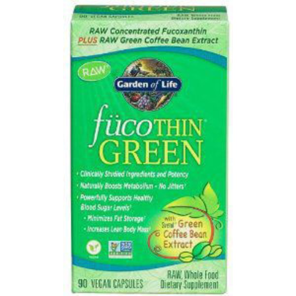 Garden of Life fücoThin Weight Loss Formula with Coffee Bean Extract Capsules