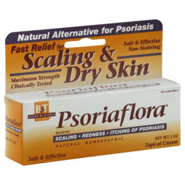 B&T Psoriaflora Maximum Strength Topical Cream