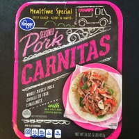 Kroger Seasoned Pork Carnitas
