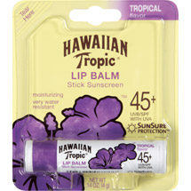 Hawaiian Tropic SPF 45  Lip Balm