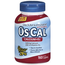 Os-Cal Calcium Supplement With Vitamin D