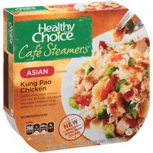 Healthy Choice Cafe Steamers Asian Inspired Kung Pao Chicken