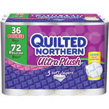 Quilted Northern Ultra Plush Toilet Paper Double Rolls
