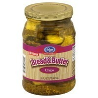 Kroger Bread & Butter Pickle Slices